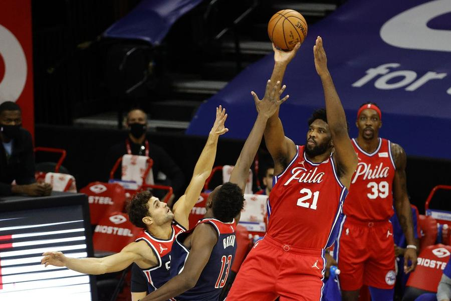 76ers- Wizards 113-107: Ο κυριαρχικός Embiid θρυμμάτισε τους Beal- Westbrook