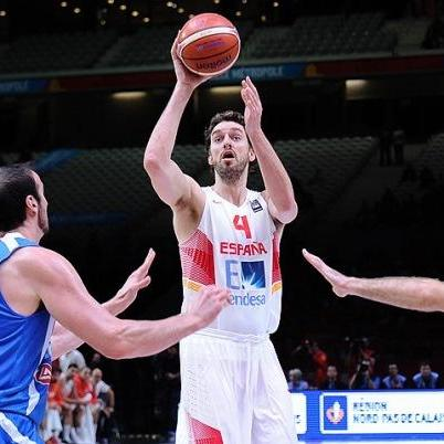 #EUROBASKET2015 Γκασόλ: «Ευχαριστώ τους συμπαίκτες μου»
