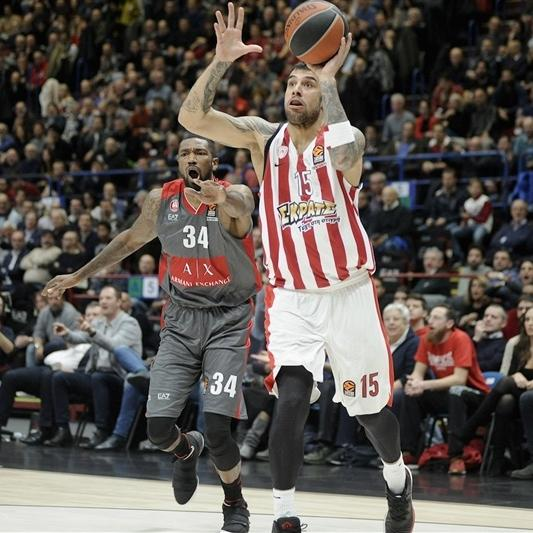 Highlights: AX Armani Exchange Olimpia Milan - Olympiacos Piraeus