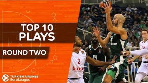 Top 10 Plays - Turkish Airlines EuroLeague Regular Season Round 2
