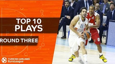 Top 10 Plays - Turkish Airlines EuroLeague Regular Season Round 3